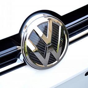 Insertos Emblema En Fibra De Carbon Para Vw Golf Polo Gcp