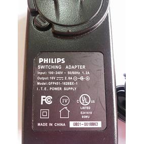 Fonte Philips 16v 2.8a / Carregador De Caixa Som