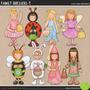 Kit Imprimible Fiesta De Disfraces Imagenes Clipart Cod 7