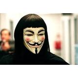 Aki 02adagas + Mascara E Peruca Para Fantasia V De Vingança
