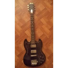 Guitarra Sonatone Sg Vintage De Los 60