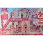 Barbie Malibu Ave Centro Comercial 50+ Piezas Playset W Esca