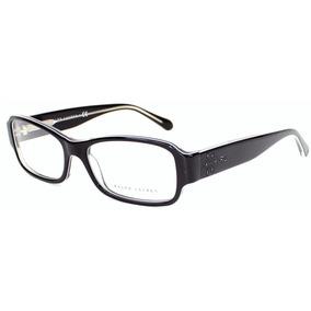 Lentes Oftalmicos Ralph Lauren Rl 6110 5446 Black White