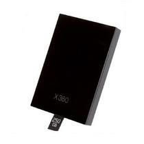 Negro Piano Carcasa De Disco Duro Para Xbox 360 Slim O 360 E