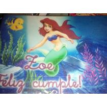 Lamina Comestible Personalizada Fototorta Princesas Sirenita