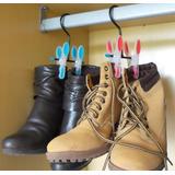 Cabide De Botas Calçados Sapato Feminino Tênis Kit 5 Peças
