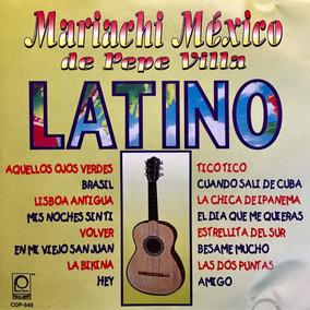 Cd Pepe Villa Mariachi Mexico Latino Usado En Buen Estado