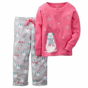 Carter´s Pijama Hombre De Nieve Talla 2 Y 3 Años