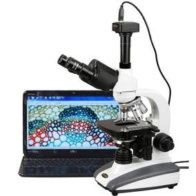 Microscopio Trinocular - Cámara Digital 3.0 Mp - 40x-2000x