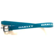 Cinturon Oakley Station Belt Blue Talla S 16-32 Original Ch