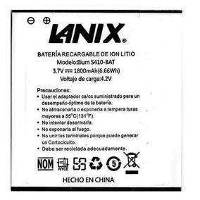 Bateria Pila Lanix S410 Llium 1800 Mah Nueva Garantizada
