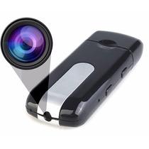 Pendrive Espião Camera Espiã Filma Sensor De Movimento Fotos