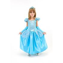 Fantasia Infantil Princesa Cinderela Luxo C/ Frete Grátis
