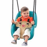 Columpio Bebes Niños Juguete Parque Step2 Toddler Swing Blue