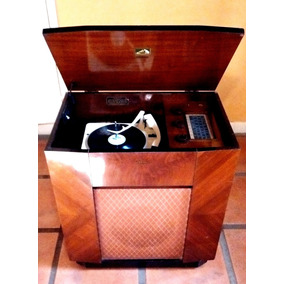 Victrola Antigua Rca Victor Funcion Perfect Mueble Impecable