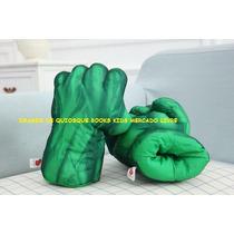 Mãos Do Incrível Hulk Par De Luvas De Espuma