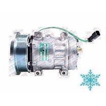 Compressor Ar Condicionado Trator Caterpillar D4e Polia 8pk