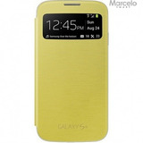 Promoção Capa S View Galaxy S4 Amarelo Frete Grátis
