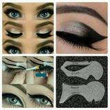 Stencil / Plantilla Para Delinear Ojos Cat Eye Y Smokey Eye