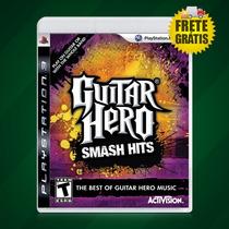 Jogo Guitar Hero Smash Hits Novo Ps3 Jogo Raro Frete Grátis