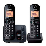 Teléfono Inalám. Panasonic Kxtgc222 Con Contestador 2 Bases