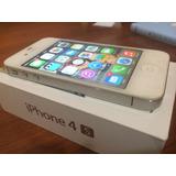 Iphone 4s De 32 Gb En Caja-apple Como Nuevo Bandas Libres
