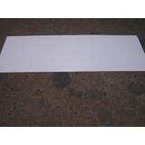 Chapa, Lamina De Aluminio Pintada Color Blanco.