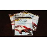 Cuerdas Fender 0.10