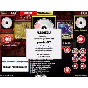 Programa Rockola Psrockola 4.k Full Con Skins Rueda