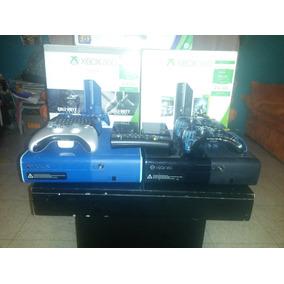 Xbox 360 E 500gb Tipo One Slim Consola Gta V Fifa 17 Black 2