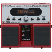 Pedal Efeito De Voz Processador Boss Ve 20 O F E R T A