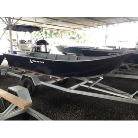 Barco Bateira Alumínio Macar 420 4,2 Metros 2017 Borda Alta