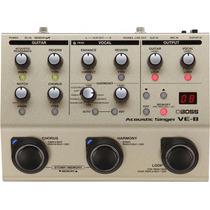 Pedal Boss Ve 8 Processador Vocal Ve8 - Original C/fonte