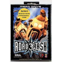 Road Rash 3 - Versão Americana + Caixa - Leia Todo Anúncio