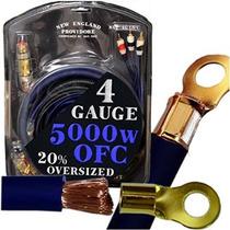 20 Pie Ofc Calibre 4 Car Audio Amplificador De Instalación Y