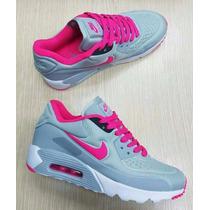 Tenis Tennis Zapatillas Nike Air Max Importados Dama