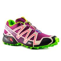 Zapatillas Salomon Speedcross 3 Mujer Púrpura