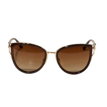 Óculos De Sol Feminino Estilo Gatinho Marrom - Unico