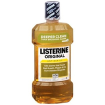 Listerine Enjuague Bucal Antiséptico Original 1.000 Ml (paqu