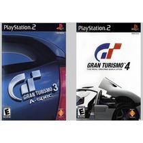 Patch Gran Turismo 3 E 4 Para Ps2 Desbloqueado