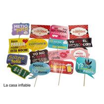 Letreros Para Selfies Paquete Con 10 Fiestas Eventos