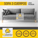 Sillon Sofa Magro, En Chenille Exclusivos Esplendidos