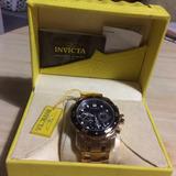 Reloj Invicta Prodive Chapado En Oro 18k 2 Años De Garantía