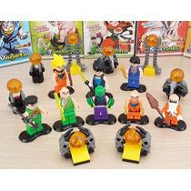 Combo De 8 Minifiguras Armables De Dragon Ball Z Al Mayor