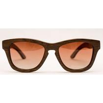 Óculos De Sol Yeva Bearwood Bamboo Brown