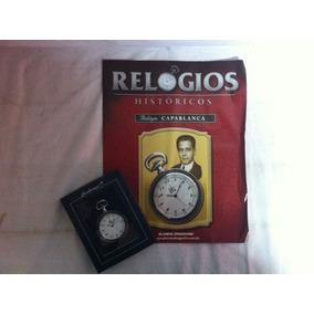 Relógios Históricos - Relógio Capablanca- Coleção Deagostini