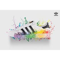 Adidas Super Star Lgbt De Colores Originales