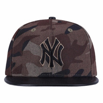 Boné Aba Reta New Era New York Yankees -fechado- Adulto