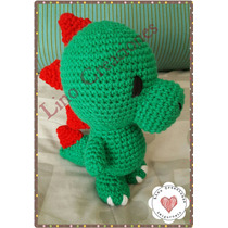 Dinosaurio Amigurumi Crochet