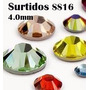 Cristal Ss16 4mm 1400pcs Elige Colores Piedra Para Ropa